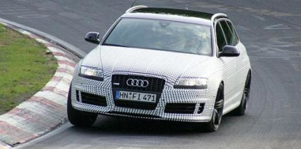 Audi RS6 Avant (Wagon) at the ring