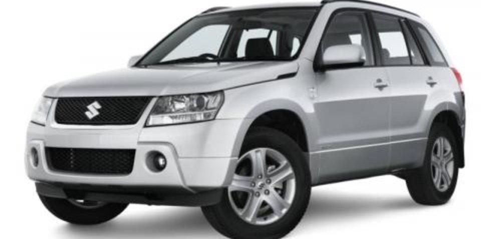 Suzuki Grand Vitara Prestige gets ESP