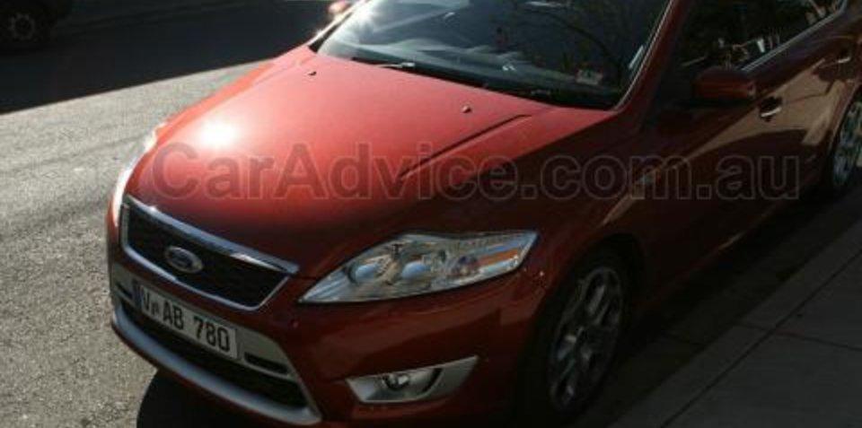 Ford Mondeo XR5 Turbo Spy Shots
