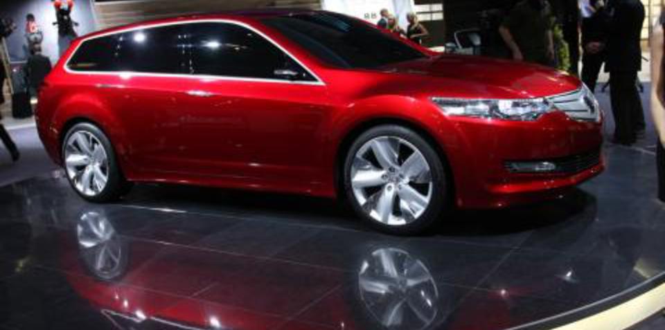 Honda Accord Tourer Concept Frankfurt Motor Show
