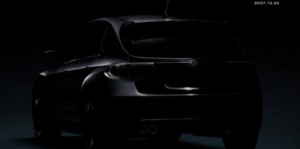 Subaru Release Second STi Teaser