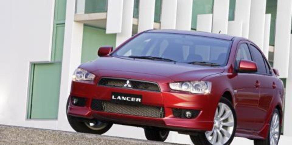 2008 Mitsubishi Lancer First Steer