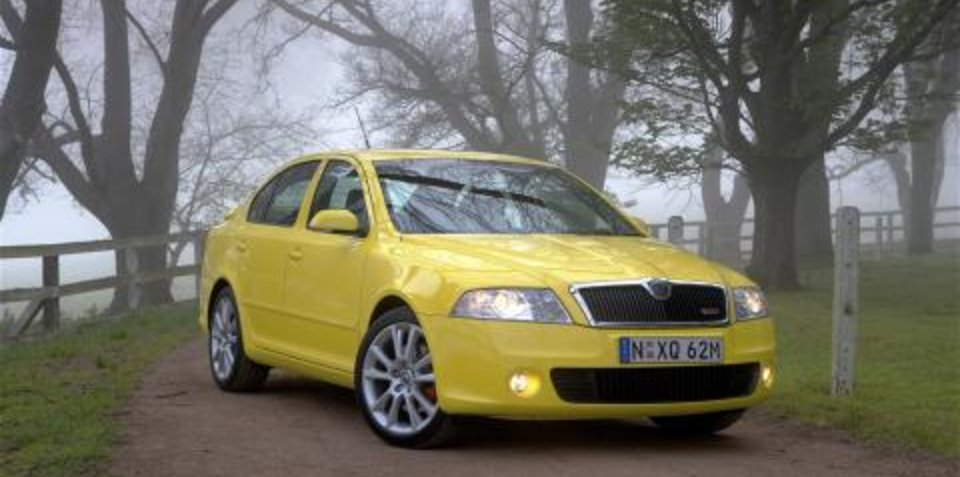 2007 Skoda Octavia RS First Steer
