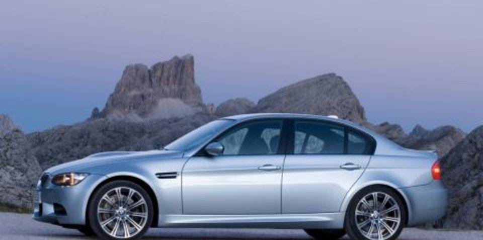 New BMW M3 Sedan Revealed