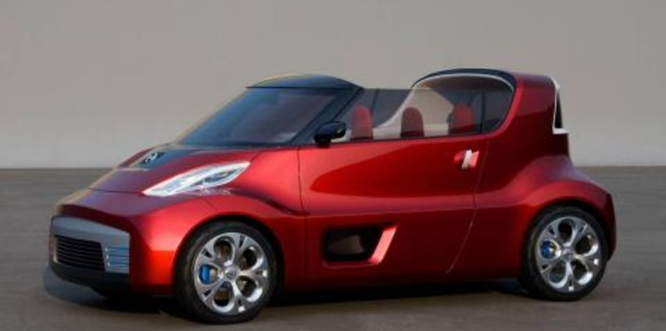 Youth-Oriented Nissan Compact Convertible