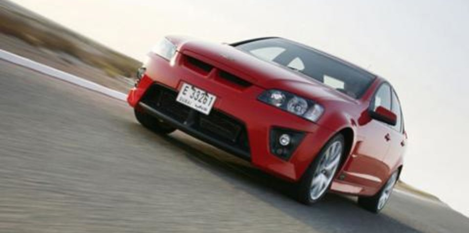 HSV unleashed in the Middle East