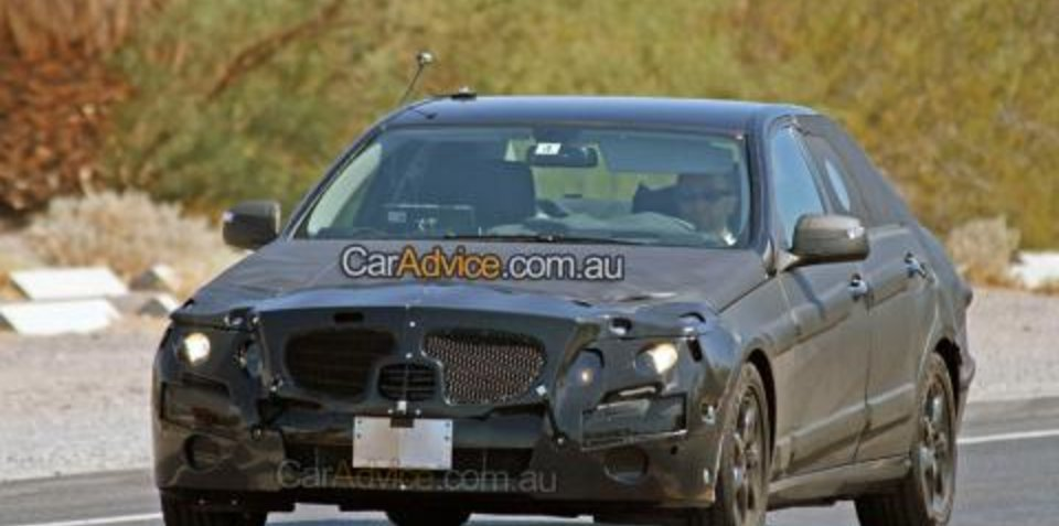 Next-generation Mercedes-Benz E‑Class (W212) spy photos