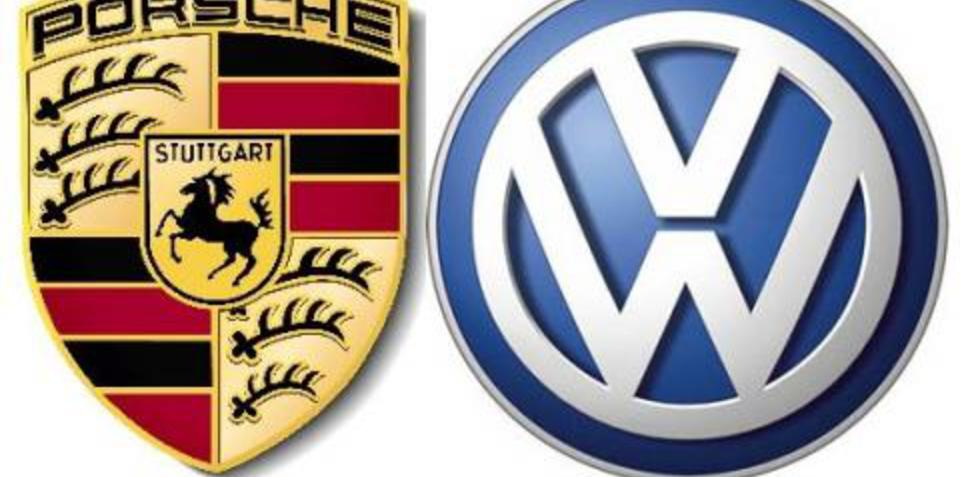 Volkswagen and  Porsche sitting in a tree...