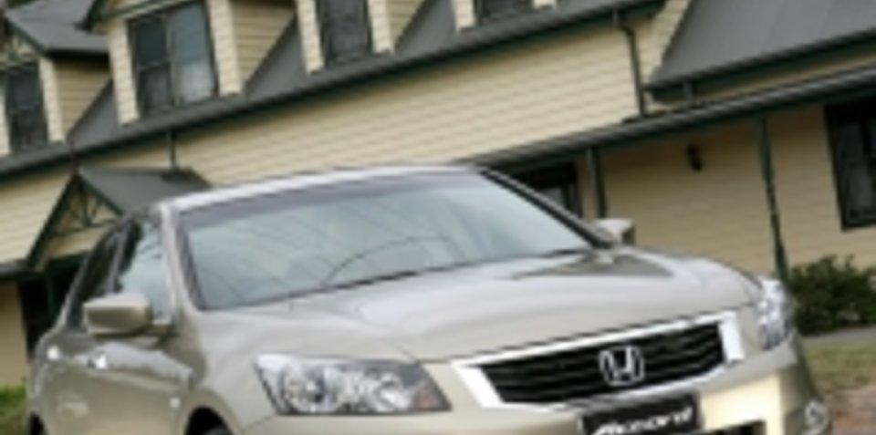 2008 Honda Accord Melbourne debut