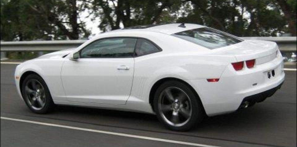 Chevrolet Camaro testing on Australian roads