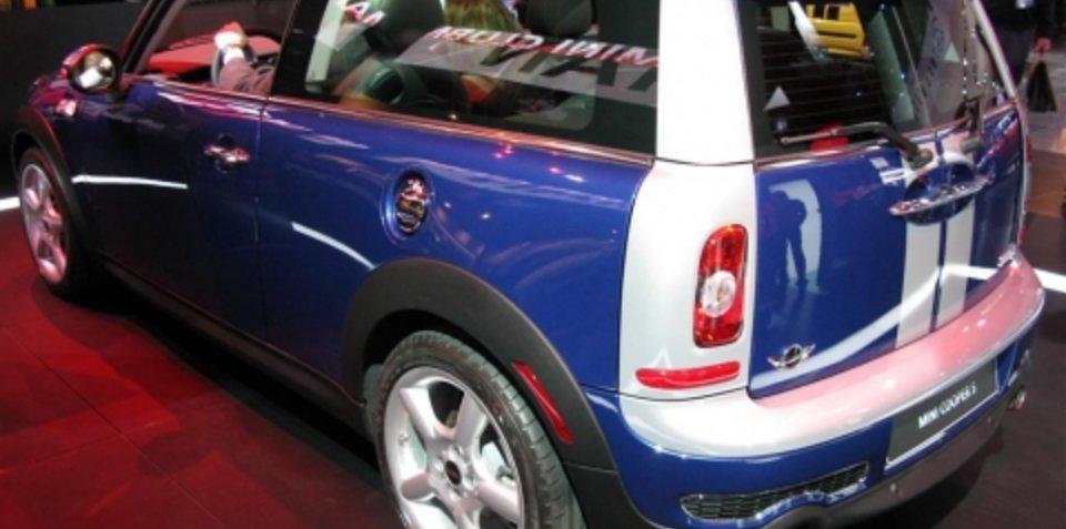 Mini Cooper S Clubman - 2008 Detroit Auto Show