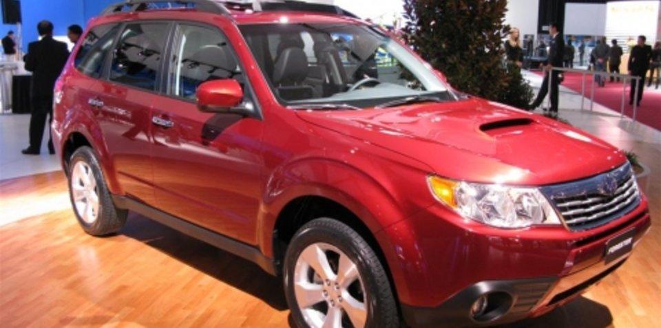 2009 Subaru Forester - 2008 Detroit Auto Show