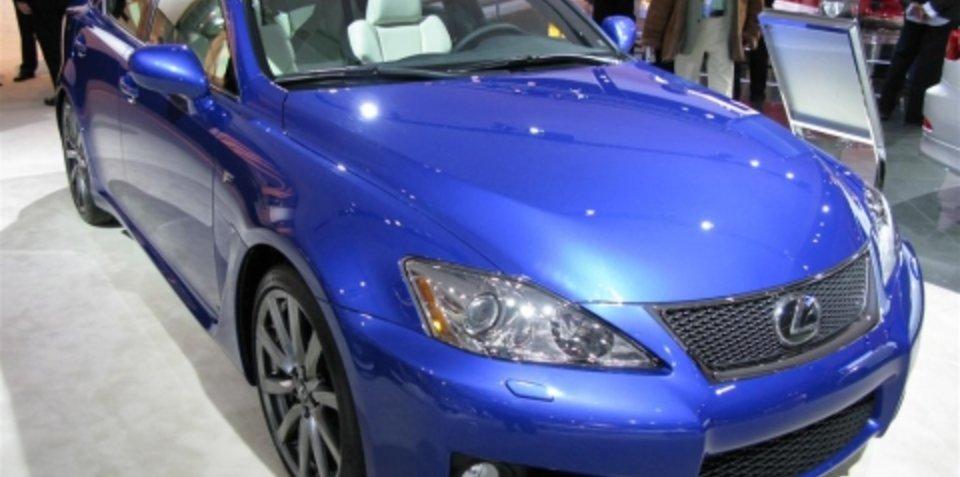 Lexus IS-F - 2008 Detroit Auto Show
