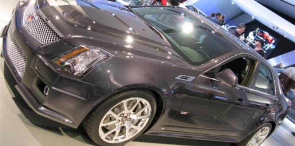 Cadillac CTS-V - 2008 Detroit Motor Show