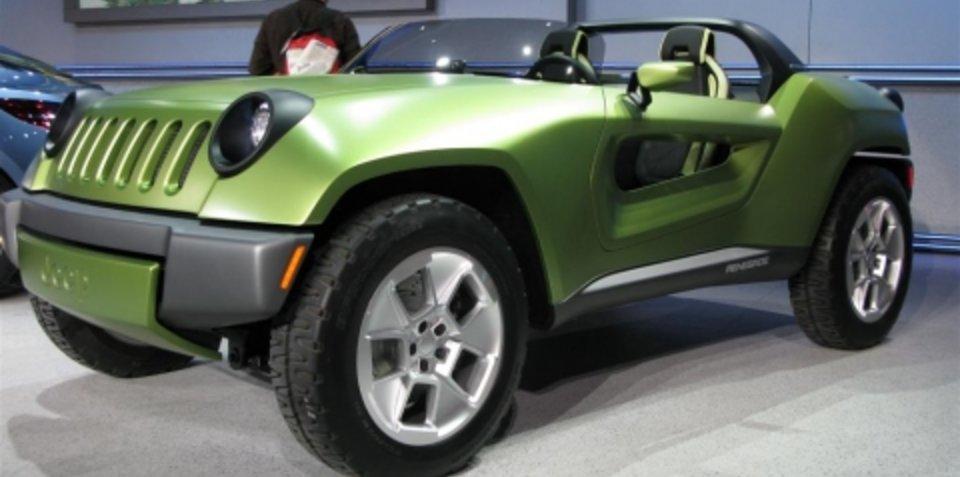 Jeep Renegade Concept - 2008 Detroit Auto Show