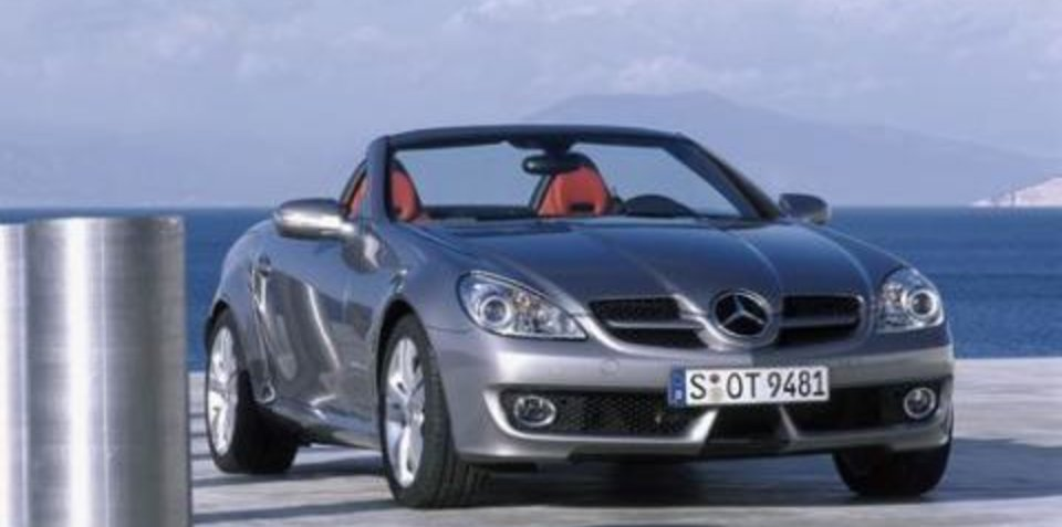 2008 Mercedes-Benz SLK preview
