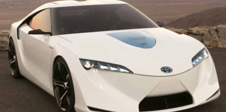 Toyota FT-HS performance hybrid concept