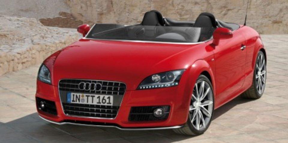 Audi TT Speedster CGI