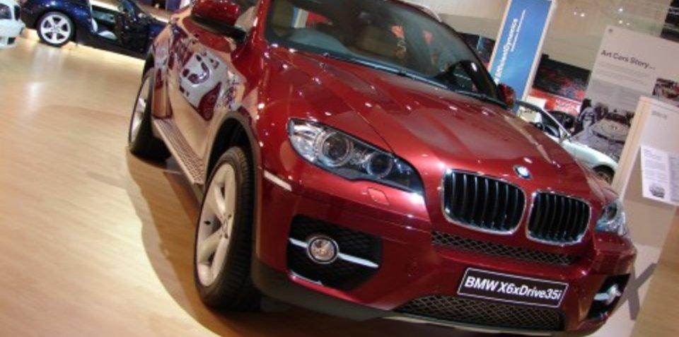 Melbourne Motor Show: BMW X6