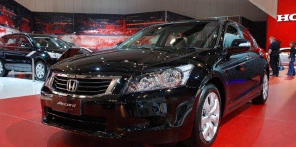 Melbourne Motor Show: Honda Accord