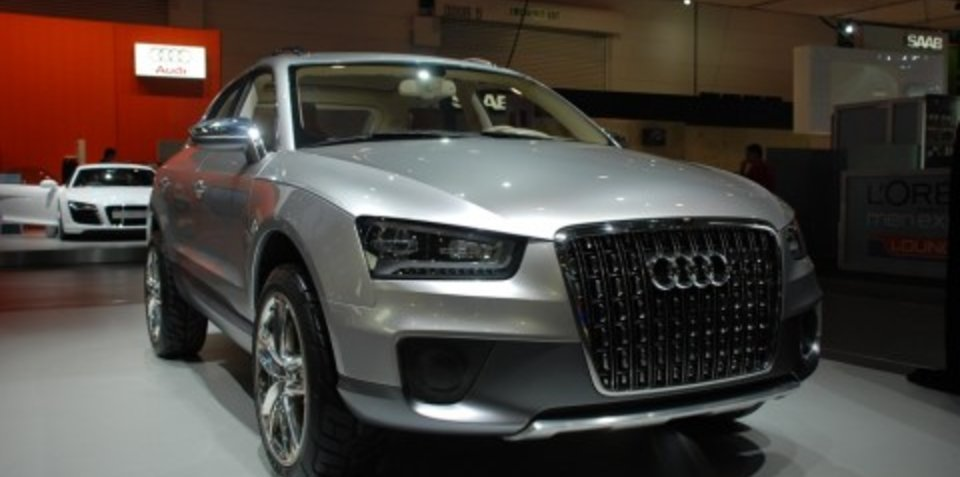 Melbourne Motor Show: Audi Cross Coupe