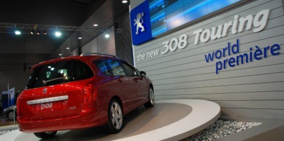 Melbourne Motor Show: Peugeot stand