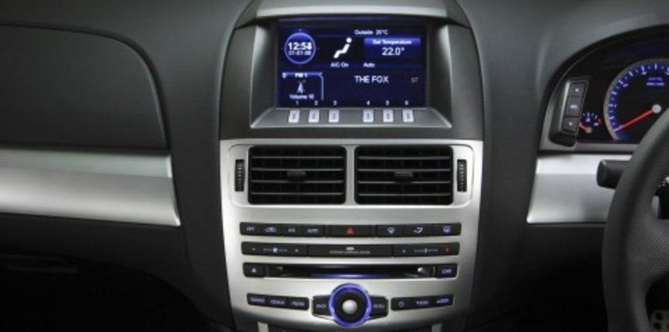 2008 Ford Falcon technology
