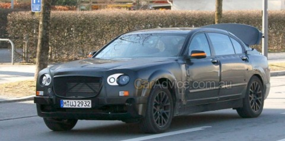 Entry-level Rolls Royce spy photos