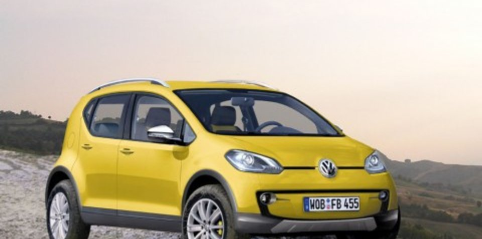 Volkswagen Lupo and CrossLupo CGI