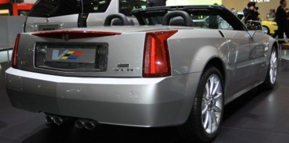 Cadillac stand 2008 Geneva Motor Show