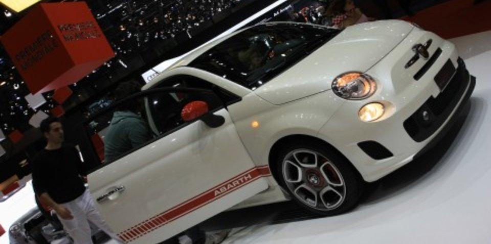 Fiat 500 Abarth 2008 Geneva Motor Show