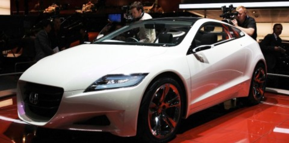 Honda stand 2008 Geneva Motor Show