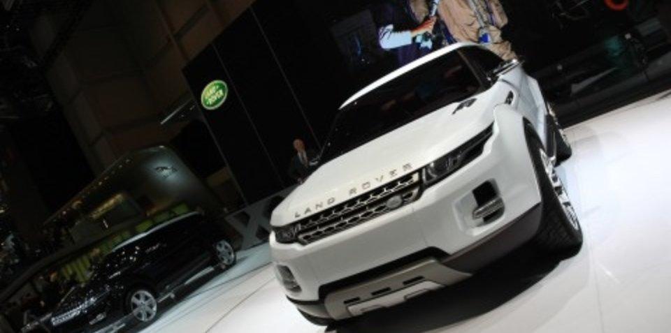 Land Rover LRX 2008 Geneva Motor Show