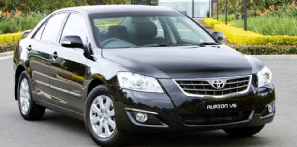Special Edition Toyota Aurion Touring