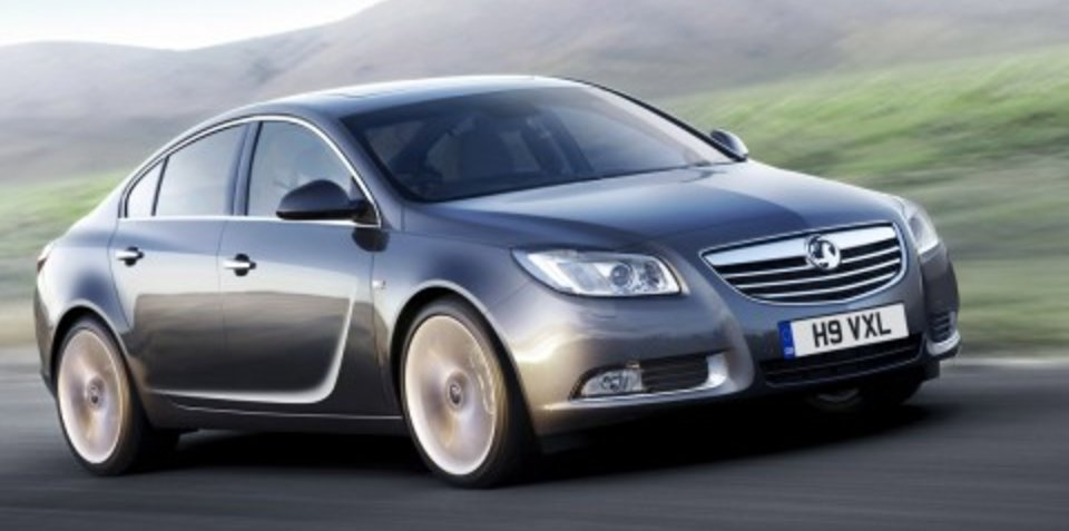 New Opel Insignia (Holden Vectra) revealed