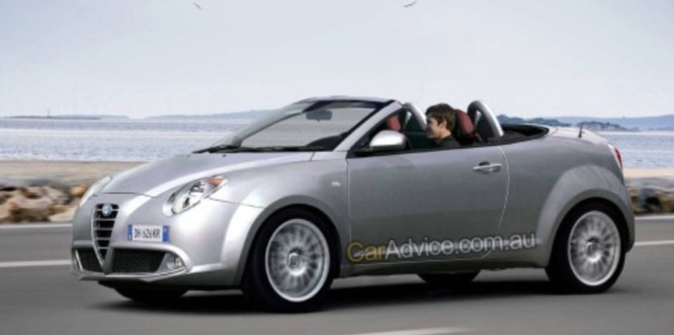 2009 Alfa Romeo Mi.To Convertible CGI