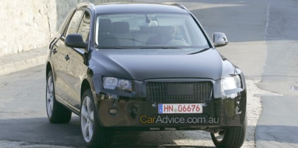 2009 Audi Q5 Spy Photos