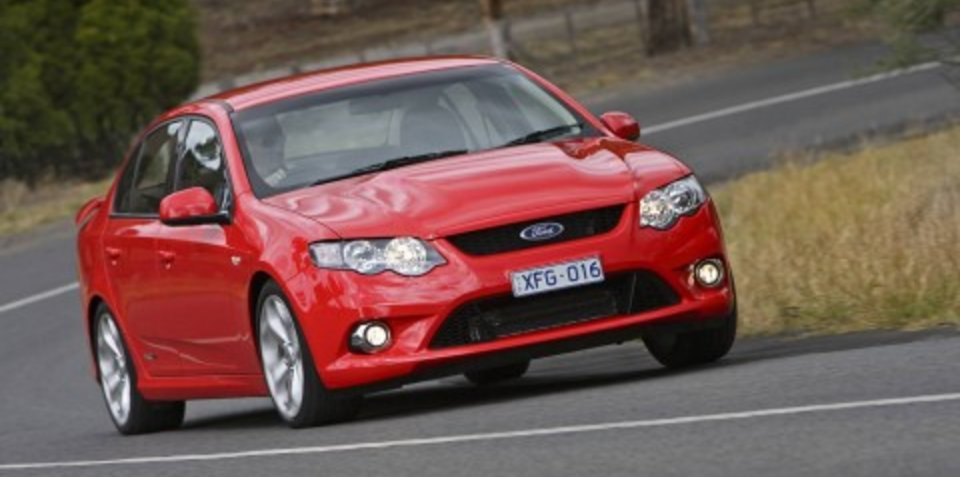 2008 Ford FG Falcon XR8 specifications
