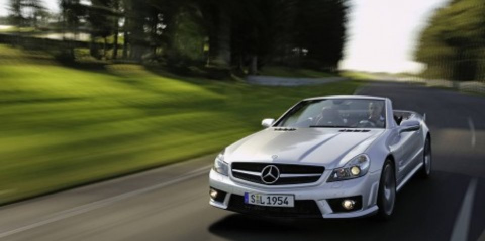 2008 Mercedes SL-Class pricing and specifications