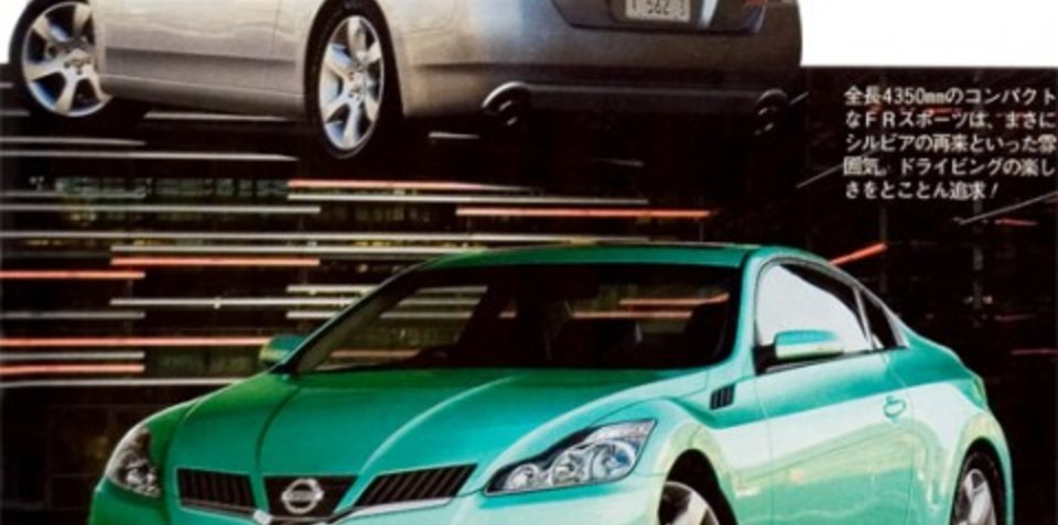 New Nissan 200sx (Silvia)?