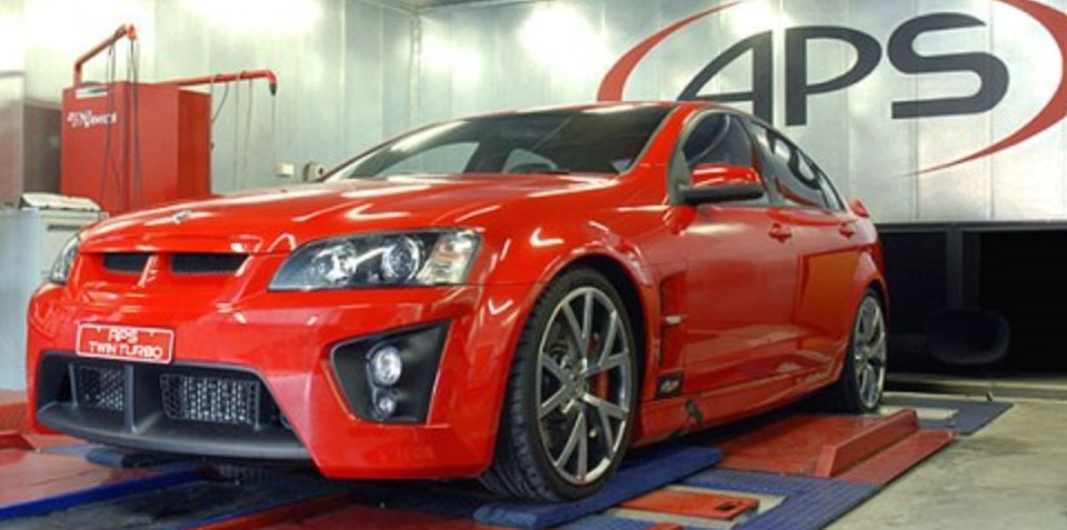 415kW twin-turbo VE SS Commodore