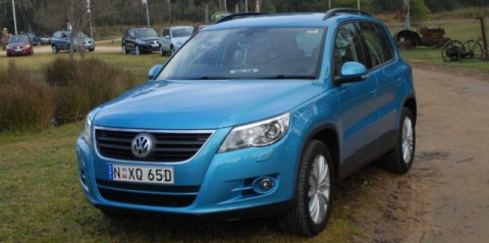 2008 Volkswagen Tiguan First Steer