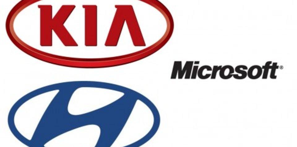 Hyundai and Kia - powered by Microsoft