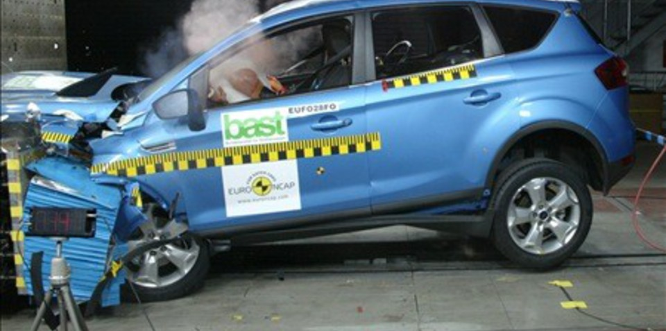 Ford Kuga scores top safety rating