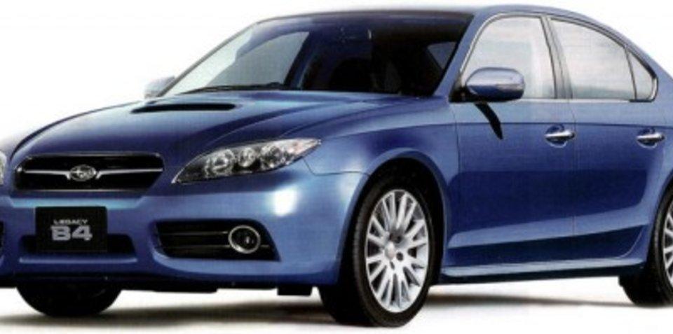 The new Subaru Liberty?
