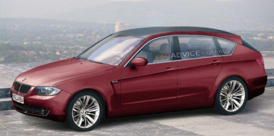 2009 BMW PAS spy shots and CGI