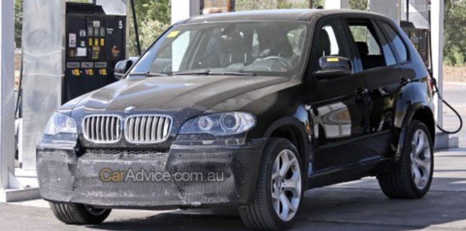 BMW Twin-Turbo V8 X5 begins testing