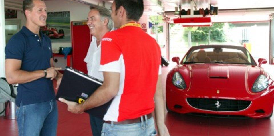 Schuey signs off on Ferrari California