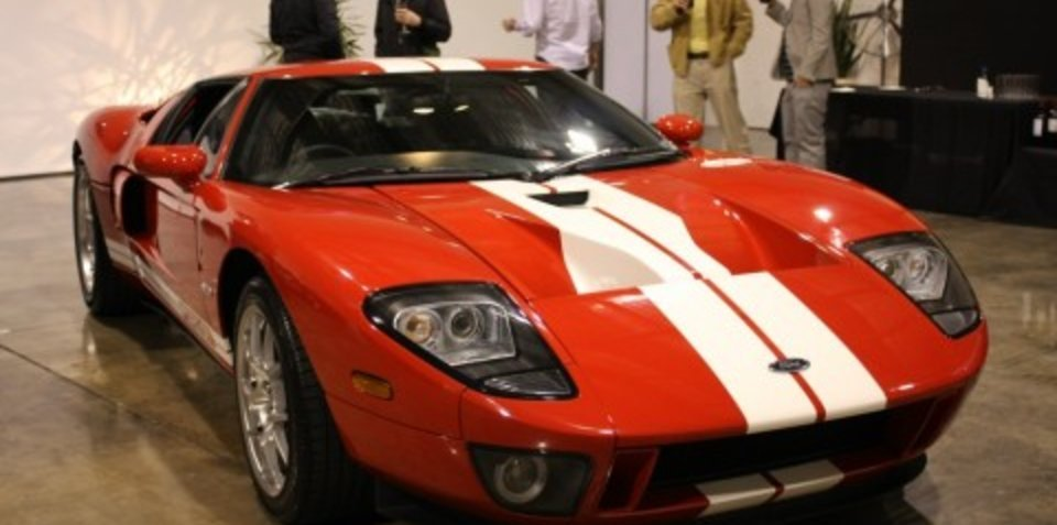 The new RHD Ford GT, exclusive to the Supercar Club