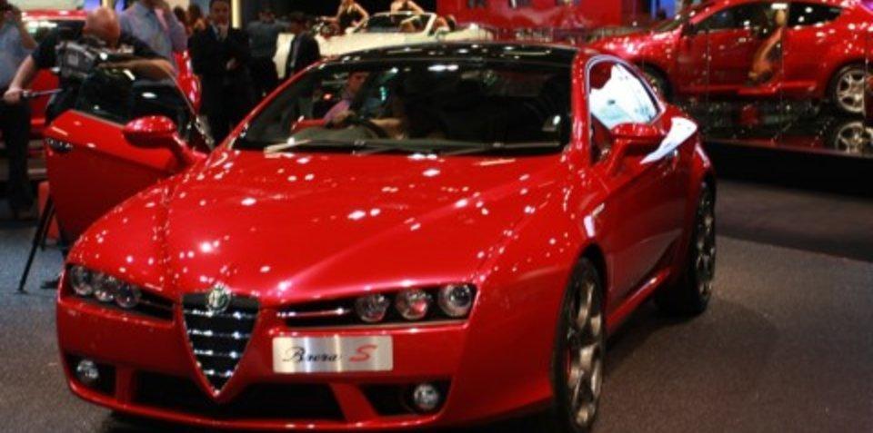 Alfa Romeo stand 2008 London Motorshow
